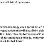 A Török Biztonsági Szolgálat Kft. közleménye